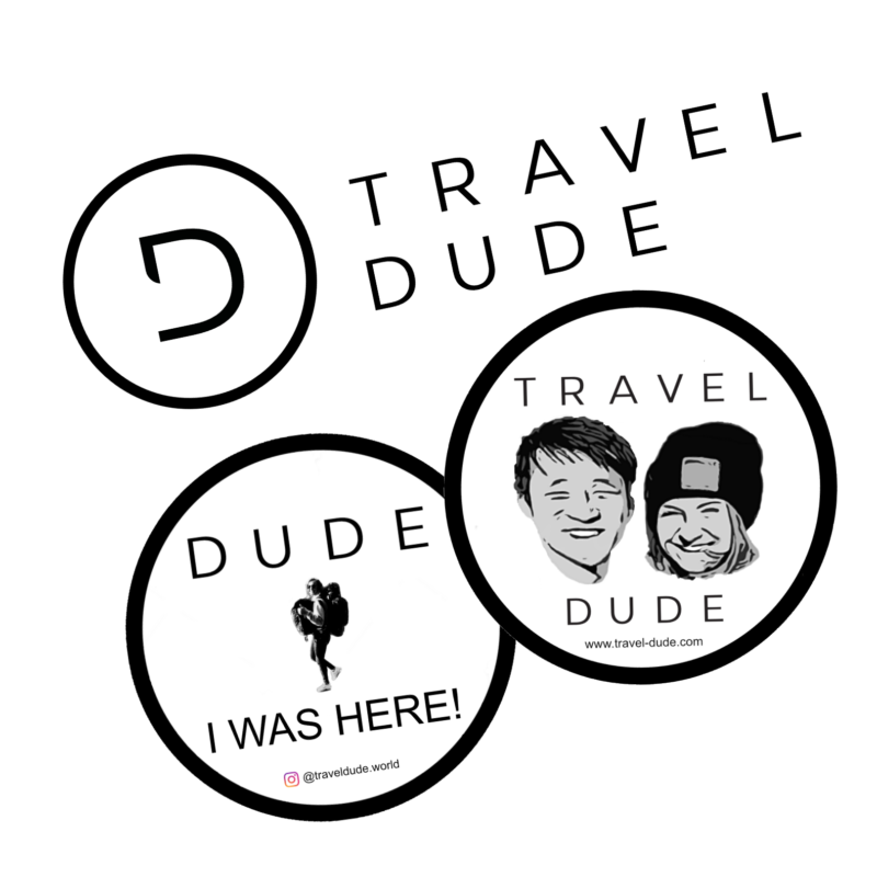 TRAVEL DUDE Sticker Set